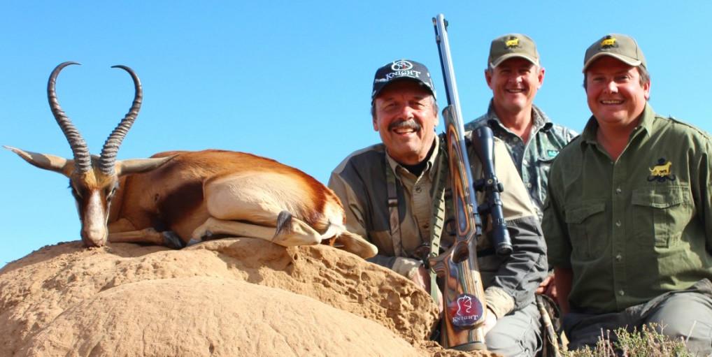 Muzzleloader Copper Springbok Slam