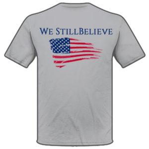 Knight We Still Believe Shirt Back