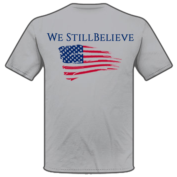 Knight We Still Believe Shirt Back