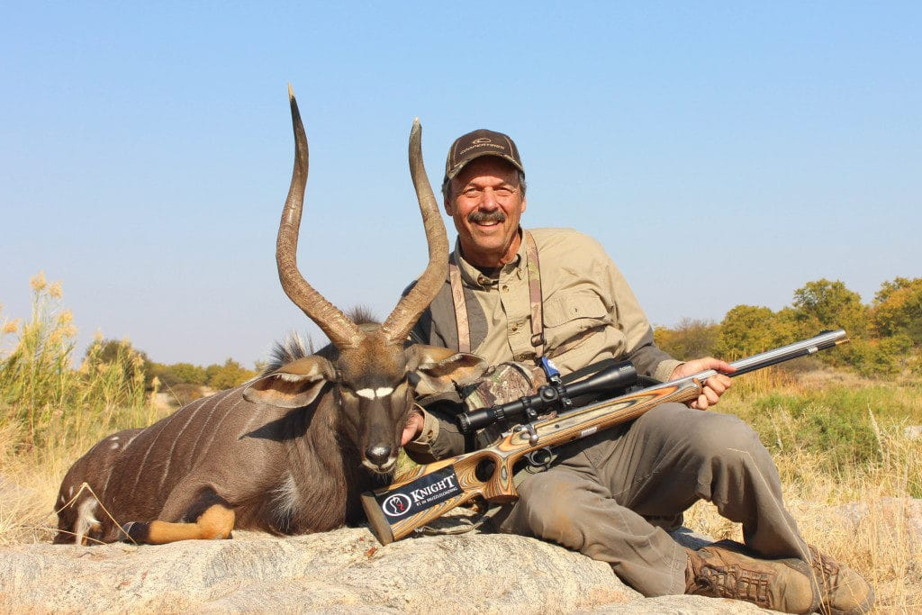 Knight Rifles Back From Africa Tony Martins