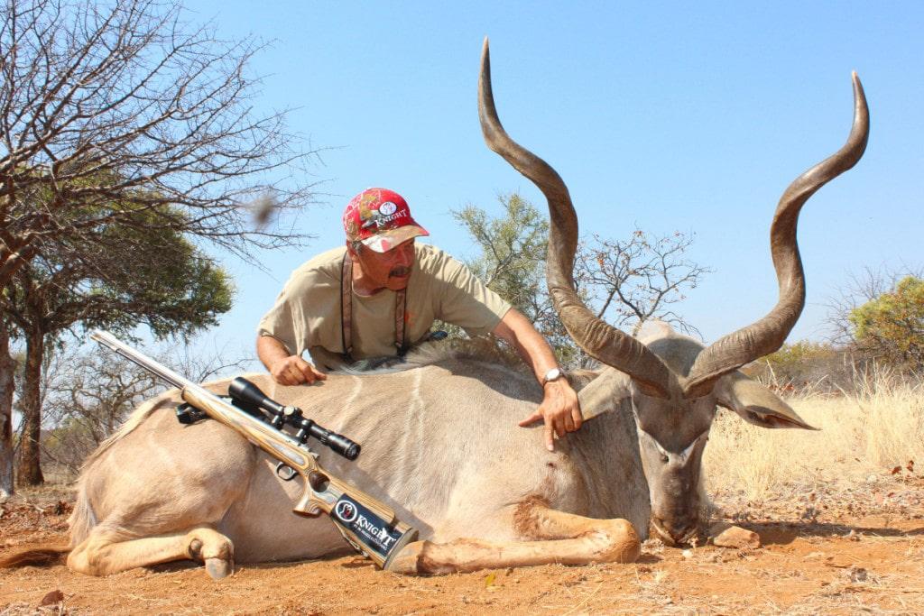 Knight Rifles African Hunting Trip Kudu