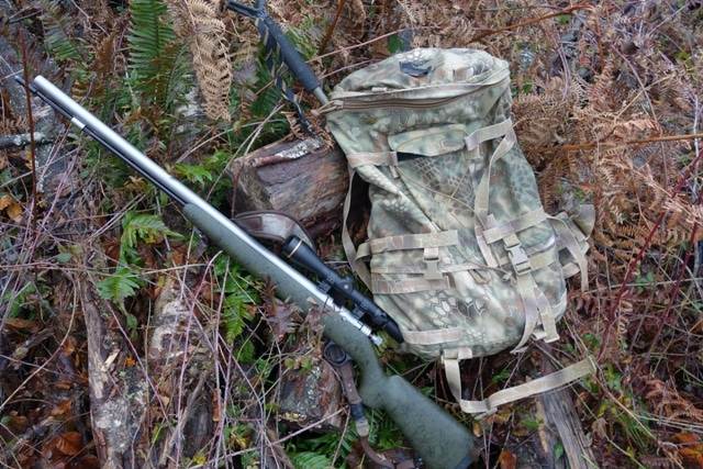 Pack with Ultra-Lite Muzzleloader