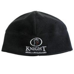 Knight Black Fleece Beanie