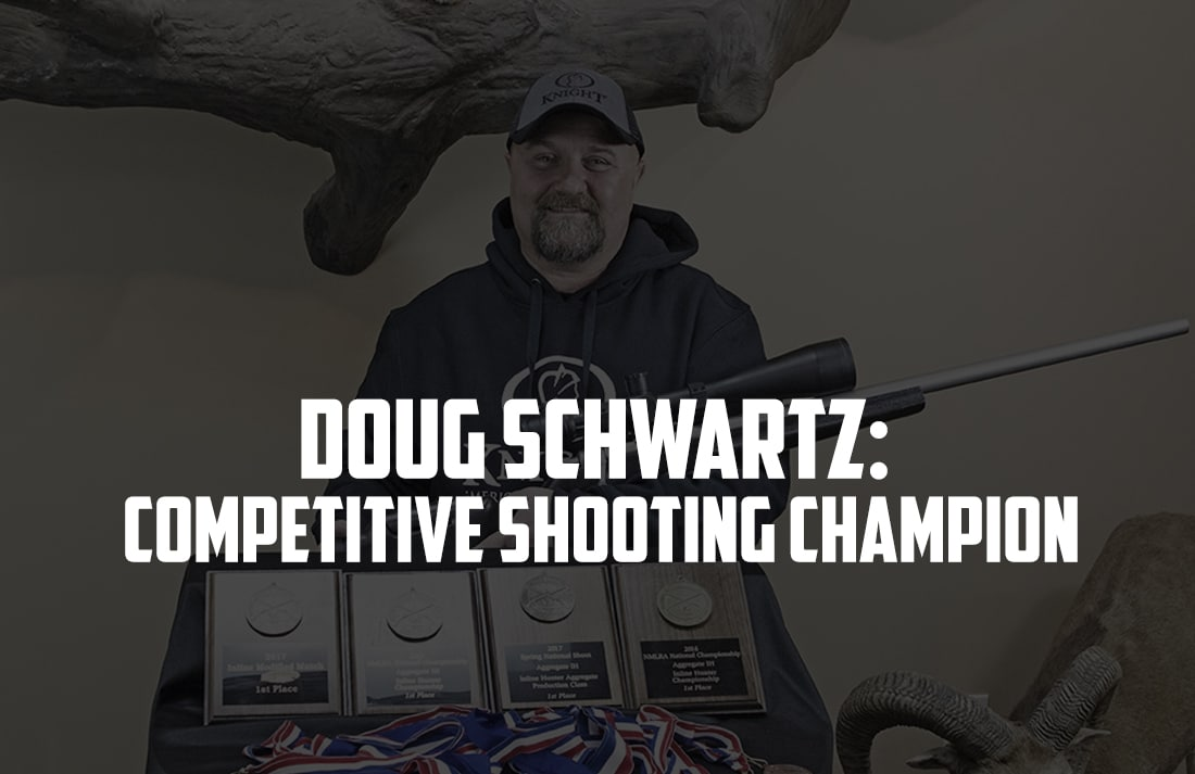 Knight Rifles Welcomes Doug Schwartz: Competitive Shooting Champion