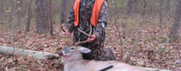 Archer Reese (11yrs old from Meigs Co. TN)  got this 8 Point Buck while hunting Fort Campbell Military Base Youth Hunt on 11/15/2015.  The Buck has a 16.75 inch spread and 19.50 inch beams. It field dressed 126lbs.  This makes his sixth deer with a LK-93 Knight Muzzleloader.   As always thank God for his many blessings and yet another amazing day in the woods.