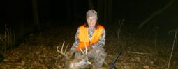 My wife Amy shot this nice Ohio 9 point with her disc extreme at 90 yds. Thanks for making a great product.
