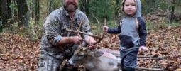 Tagged out on nice 8pt hunting the  mountain behind my house!!